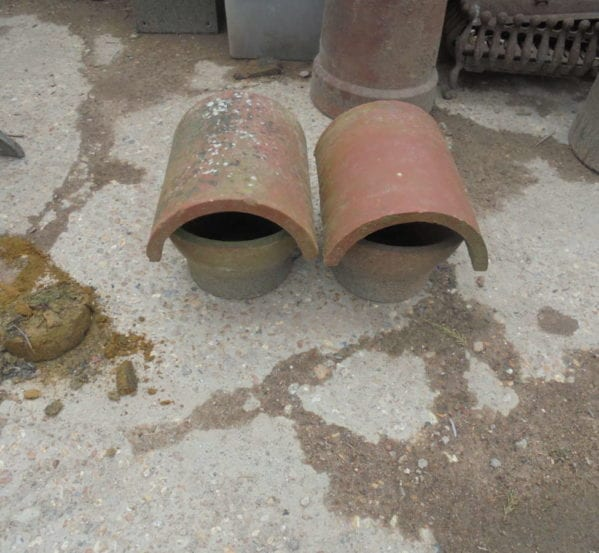 pair of chimney cowls