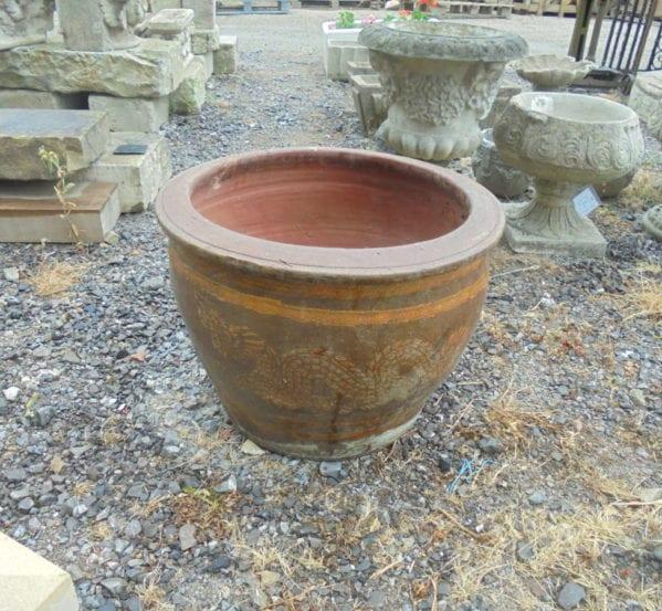 decorative pot