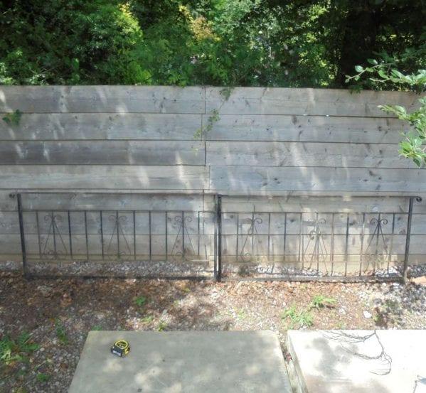 Reclaimed Low Iron Railings