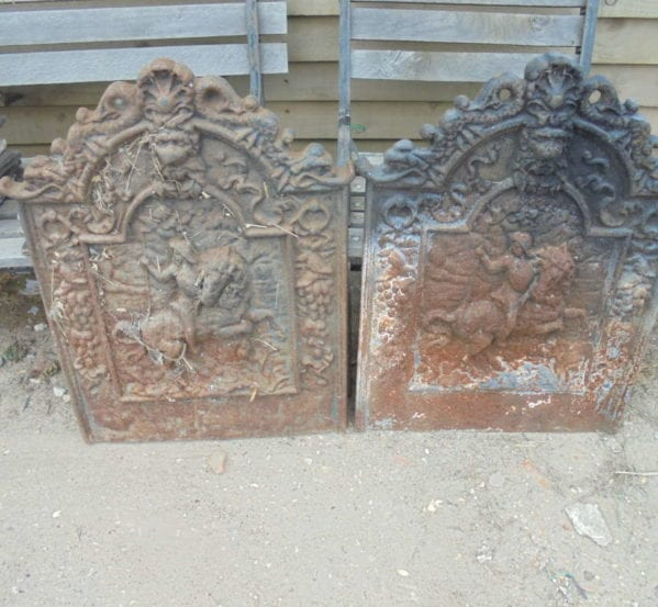 pair of fire backs