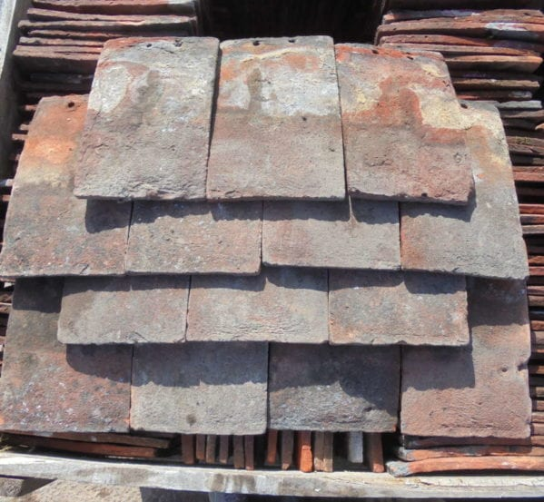 Handmade Clay Peg Tiles