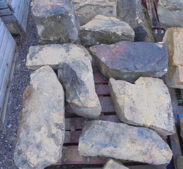 Weathered Sandstone Features From Mayfield