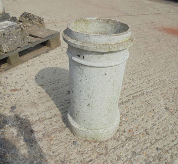 painted chimney pot
