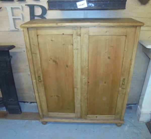 Antique Storage Cupboard with sliding doors