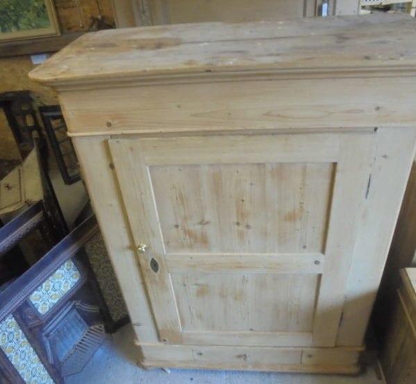 antique pine dutch wardrobe