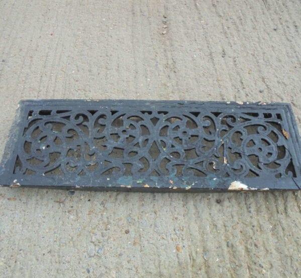 Reclaimed Metal Door Step