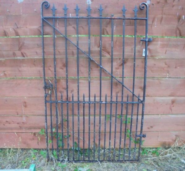 Tall Single Wrought Iron Gate