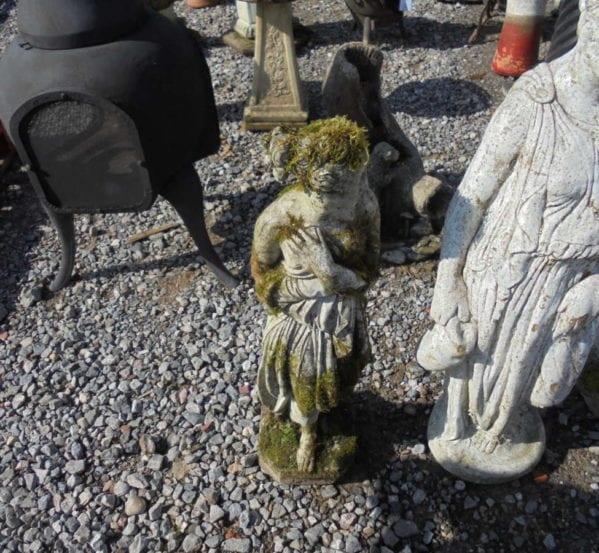 Reclaimed Decorative Stone Statue