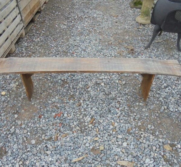 Reclaimed Outdoors Wooden Bench