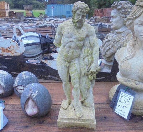 Small Reclaimed Plastic Statue