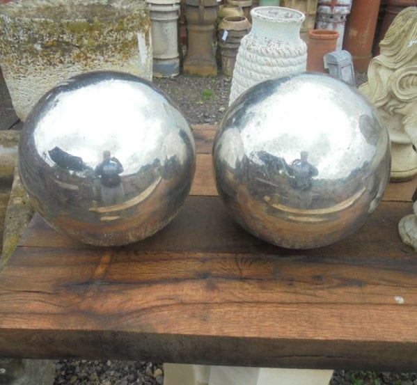 Reclaimed Modern Metal Balls