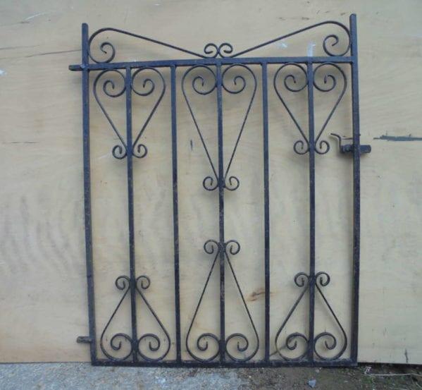 Small Single Wrought Iron Gate