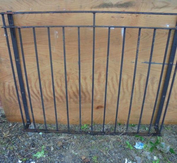 Small Iron Wrought Balcony Railing