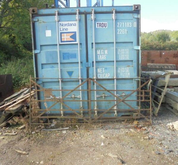 Rustic Iron Field Gate
