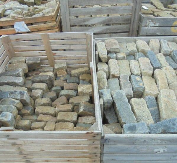 Mixed Coloured Granite Cobbles