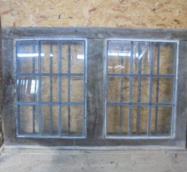 Reclaimed Oak Window