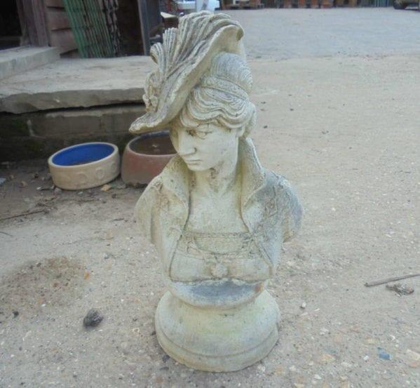 Beautiful Lady Stone Statue