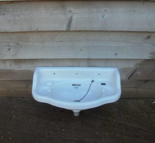 RECLAIMED KNOWLE LONDON SMALL SINK