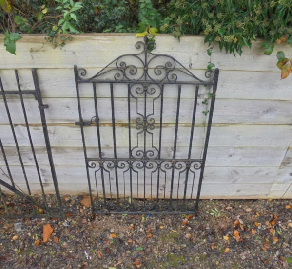 RECLAIMED PEDESTRIAN GATE