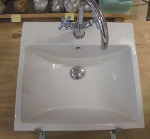 Modern Sink and Taps