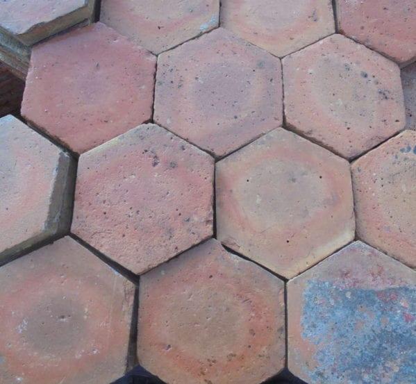 Medium Hexagonal French Floor Tiles