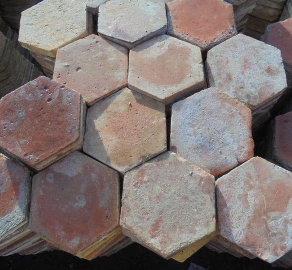 Large Hexagonal French Floor Tiles