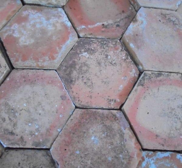 French Floor Tiles Hexagonal