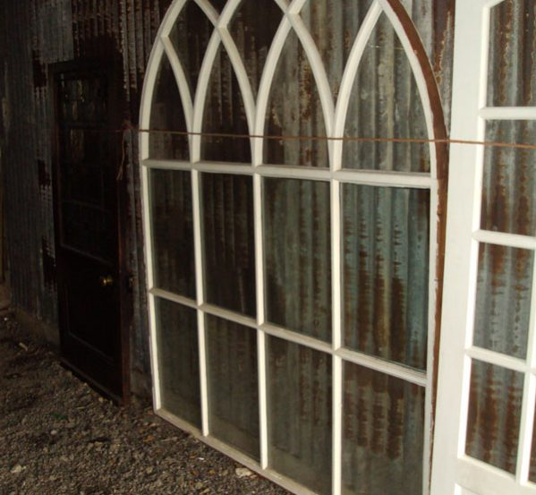 Reclaimed Arch Window