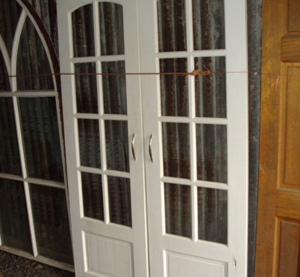 Reclaimed Wooden Patio Doors