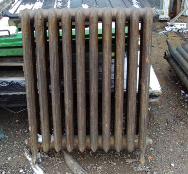 Large reclaimed Princess radiators