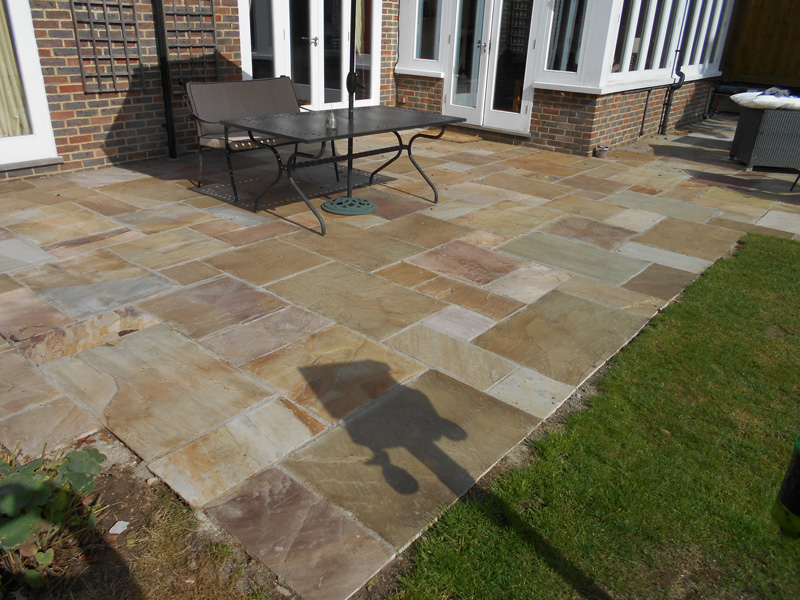 Indian Sandstone Paving For Kent Authentic Reclamation
