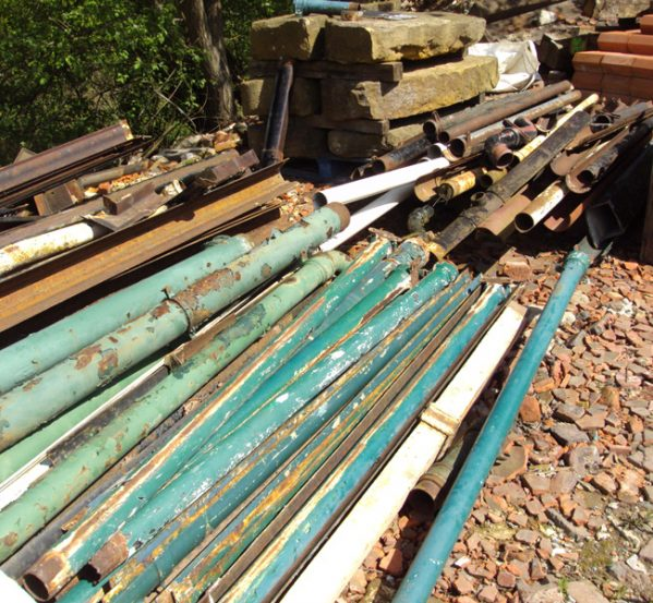Reclaimed Cast Iron Guttering and Downpipes