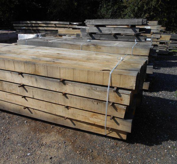 Air Dried European Oak Beams
