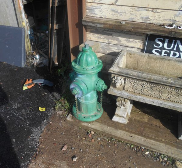 Reclaimed Fire Hydrant