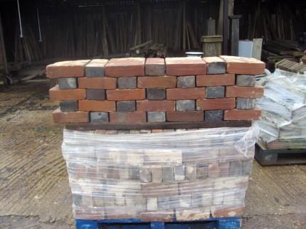 Handmade Victorian ashburnham bricks