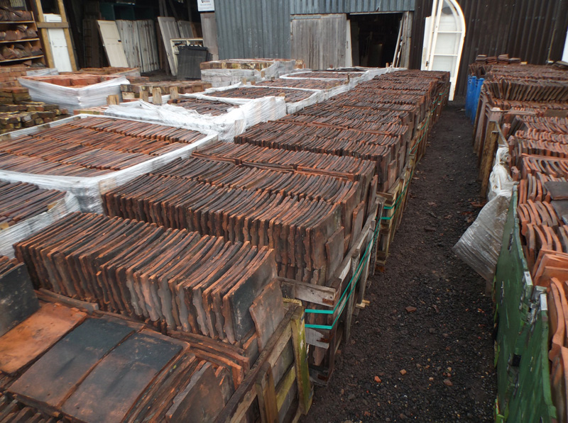 Reclaimed Roof Tiles For Dorking Authentic Reclamation