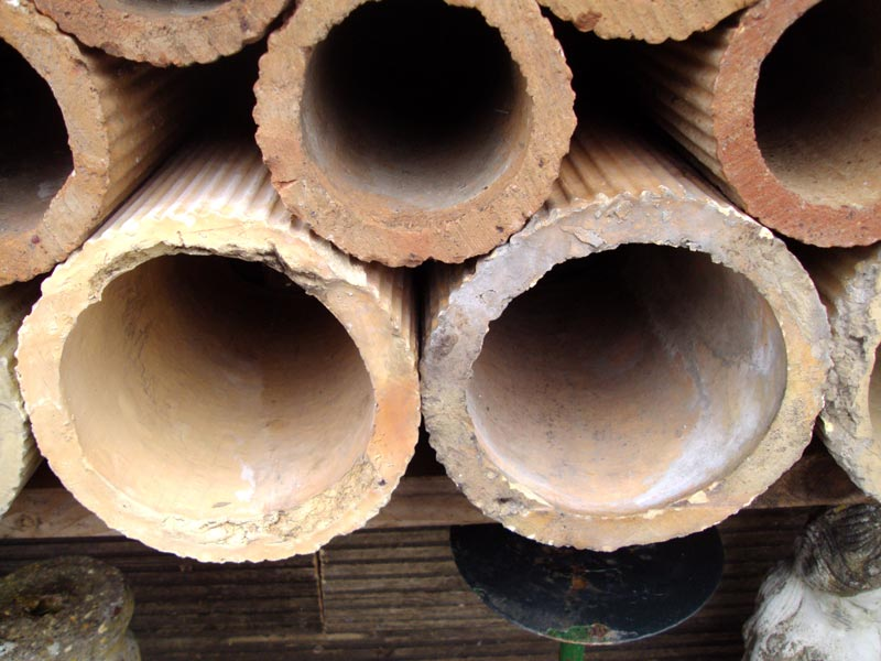 Reclaimed Large Clay Pipes Authentic Reclamation