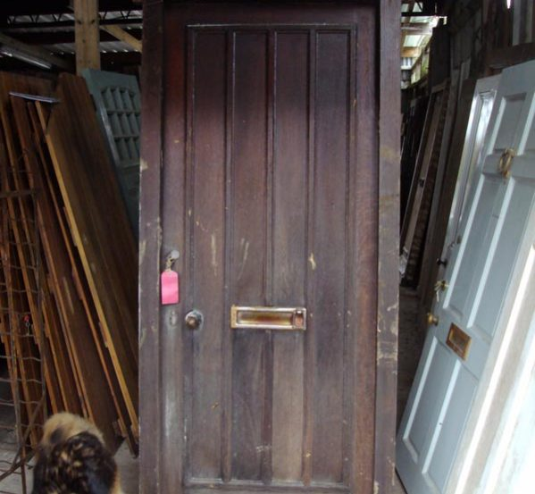 Reclaimed Oak Front Door