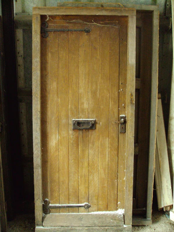 Reclaimed Oak Door and Frame - Authentic Reclamation
