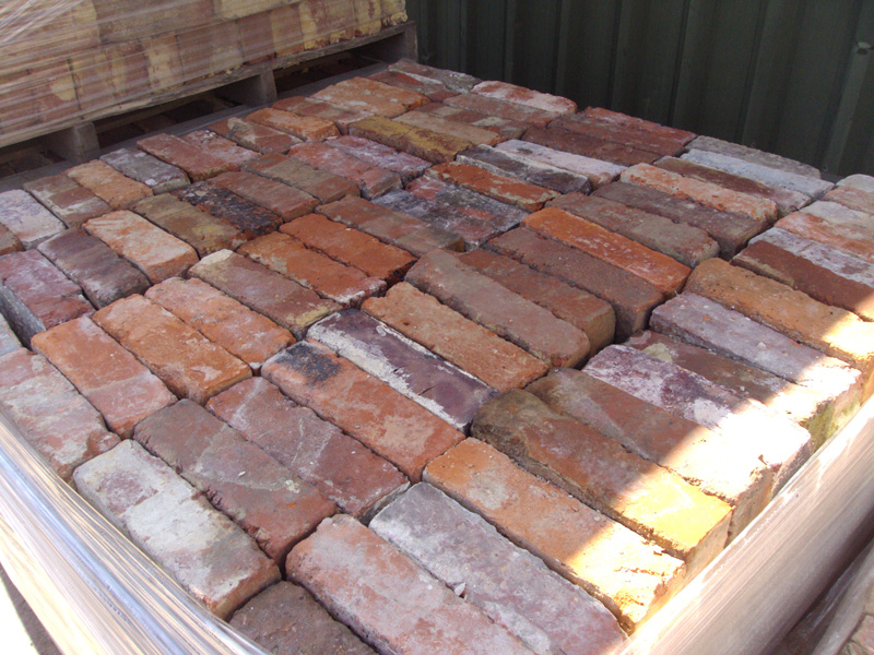 These Rustic Wire Cut Bricks Would Be Ideal For A Rustic Garden Wall.