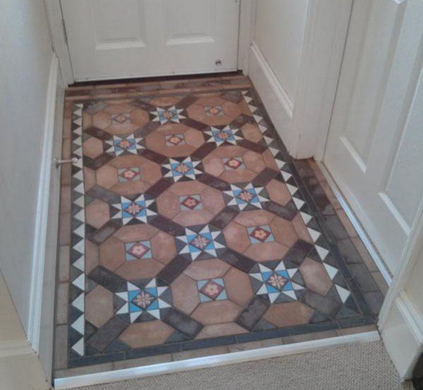 Reclaimed Mosaic Floor Tiles