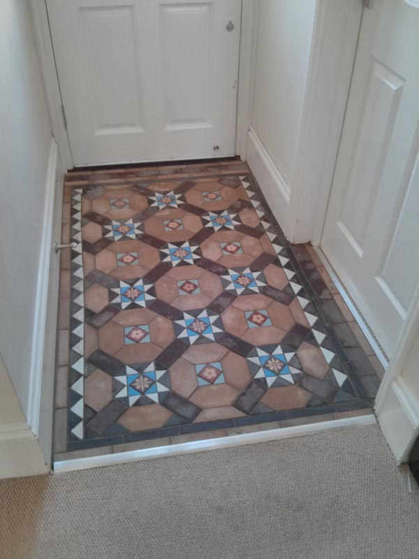 Reclaimed Mosaic Floor Tiles - Authentic Reclamation