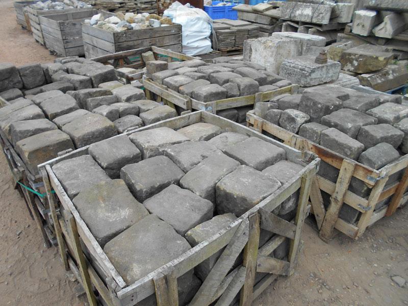 Reclaimed York Stone Cobbles