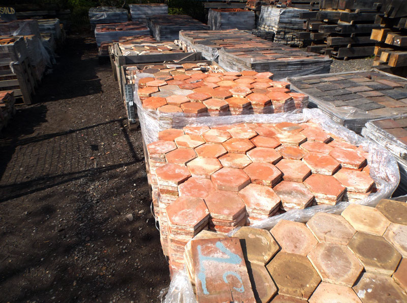 Hexagonal Handmade French Floor Tiles