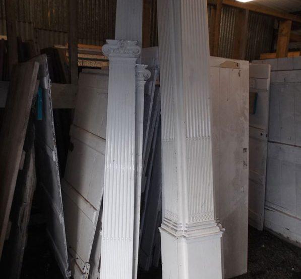 Reclaimed Interior Room Decorating Pillars