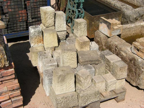 pad or staddle stones
