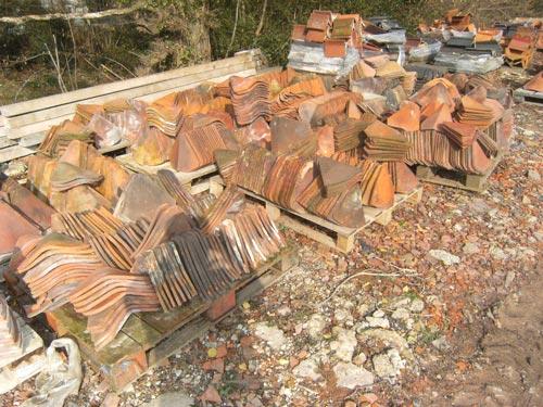 Reclaimed valley tiles