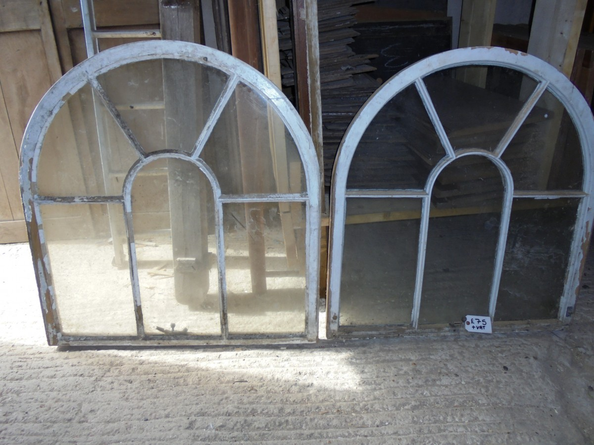 Arched Top Windows Authentic Reclamation