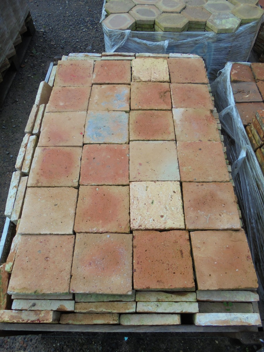 Reclaimed french floor tiles authentic reclamation a reclaimed french floor tile we recently imported a large quantity of various french floor tiles which this batch was part of the tiles look really nice dailygadgetfo Choice Image