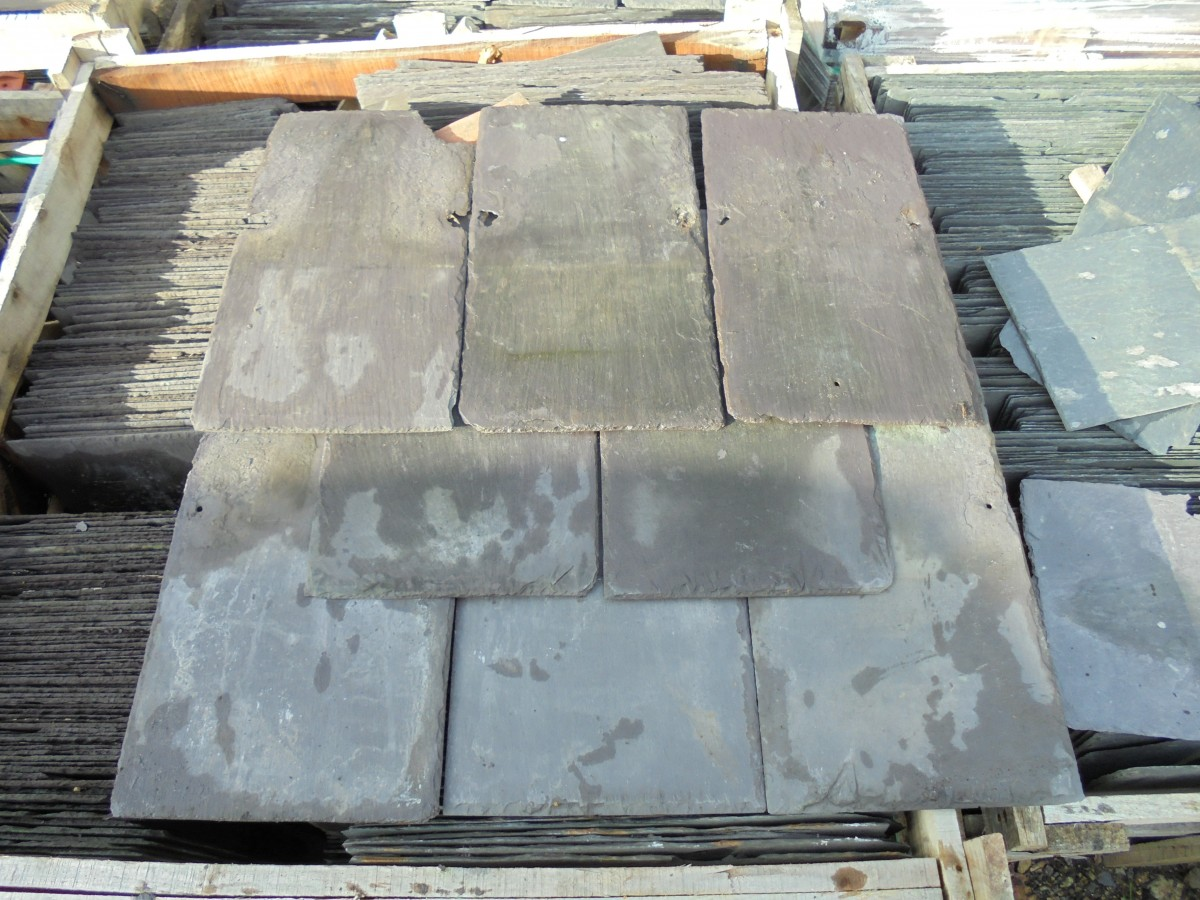 Reclaimed Roofing Slate 18 Quot X 10 Quot Authentic Reclamation